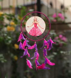 Rooh Dream Catchers Multicolour Wool Barbie Dream Catcher