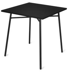 Rosta Square Table in Black Colour by Nilkamal