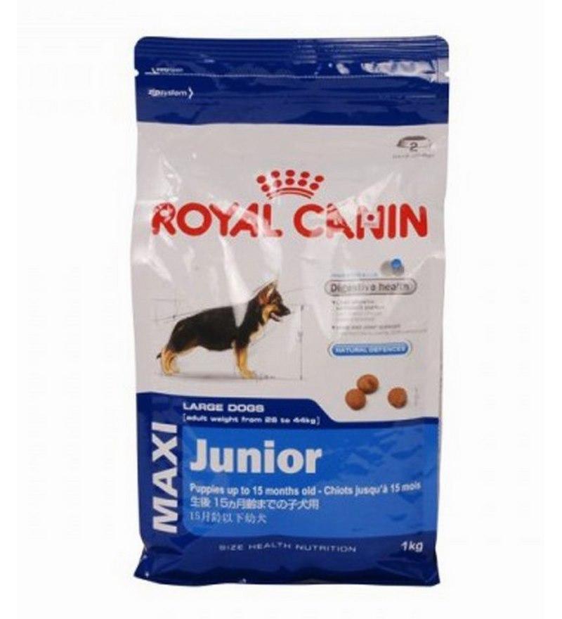 royal canin maxi junior 1 kg dog food by royal canin. Black Bedroom Furniture Sets. Home Design Ideas