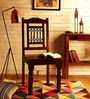 Kirk Dining Chair in Provincial Teak Finish by Amberville