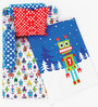 Fancy Fluff Robot 6-Piece Premium Baby Mattress Set
