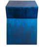 Robyn Stool in Dark Blue Mottling by Inliving