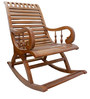 Rocking Chair in Maestro Teak Finish by BigSmile