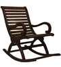 Rocking Chair in Teak Colour by RVF