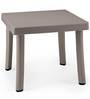 Rodi Pool-Side Table in Tortora Finish by Nardi