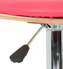 Roll Bar Stool in Pink  by The Furniture Store