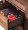 Roman Bedside Table in Brown Colour by Durian
