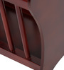 Roman Magazine Stand in Brown Colour by ClasiCraft