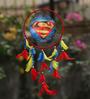 Rooh Dream Catchers Multicolour Wool Superman Dream Catcher
