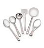 Roops Stainless Steel 6-piece Medium Serving Spoon Set
