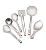 Roops Stainless Steel Small 6-piece Serving Spoon Set