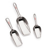 Roops Grain Flour Stainless Steel 3-piece Scoop Set