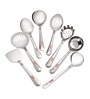 Roops Lovely Stainless Steel Small 8-piece Serving Spoon Set