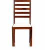 Dallas Solid Wood Dining Chair in Honey Oak Finish by Woodsworth
