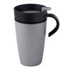 Rosti Silver ABS Plastic 275 ML Automatic Thermo Mug