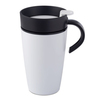 Rosti White ABS Plastic 275 ML Automatic Thermo Mug