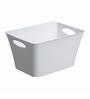 Rotho Plastic White 11 L Living Box