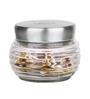 Roxx Aracadia Transparent 600 Ml Jar Set of 4