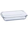 Roxx Glass 1800 ML Baking Dish -Set of 2