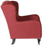 Royal Wing Chair in Rusty Red Colour by HomeTown
