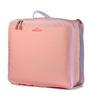 RUBY Pink Nylon 5-piece Travel Luggage Organizer Set