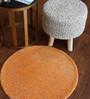 Rufino Area Rug 28 Inch in Orange by CasaCraft