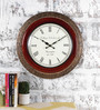 Rural Craft Multicolour Metal & MDF 17.5 Inch Round Blissful Wall Clock