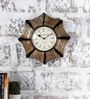 Rural Craft Multicolour Metal & MDF 12.8 Inch Round The Odd One Out Wall Clock