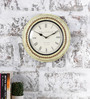Rural Craft Multicolour Metal & MDF 11.5 Inch Round The Old School Wall Clock