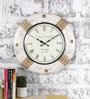 Rural Craft Multicolour Metal & MDF 17.5 Inch Round The Royal Dial Wall Clock