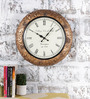 Rural Craft Multicolour Metal & MDF The Trendsetter Wall Clock