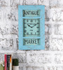 Rural Craft Multicolour Metal & MDF The Vintage Wall Clock