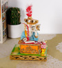 Rural Craft Multicolour Resin Muneem Ganesha