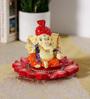 Rural Craft Multicolour Resin Puja Ganesha with Safa