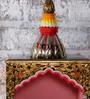 Rural Craft Multicolour Wooden Temple