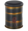 Rustic Drum Stool in Copper Colour by @home