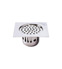 S Chilly Chrome Stainless Steel 304 Grade Cockroach Floor Drain Jali