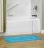 S9home by Seasons Blue Cotton Bath Mat