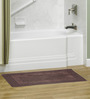 S9home by Seasons Brown Polyester Bath Mat