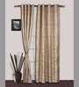 S9home by Seasons Long Beige Polyester 60x108 INCH Door Curtain - Set of 2
