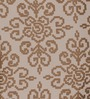 S9home by Seasons Beige Polyester Abstract Window Curtain - Set of 2