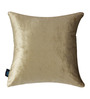 S9home by Seasons Brown Velvet 16 x 16 Inch Cushion Cover
