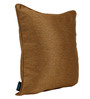 S9Home by Seasons Golden Polyester 16 x 16 Inch Plain Cushion Cover