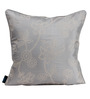 S9Home by Seasons Grey Polyester 16 x 16 Inch Floral Cushion Cover