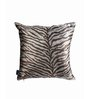 S9home by Seasons Grey Velvet 20 x 20 Inch Cushion Cover