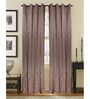 S9home by Seasons Long Yellow Polyester Door Curtain - Set of 2
