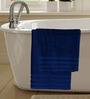 S9home by Seasons Premium Stone Blue Cotton Bath Towel