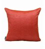 S9home by Seasons Red Polyester 20 x 20 Inch Cushion Cover