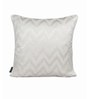 S9home by Seasons White Polyester 18 x 18 Inch Cushion Cover