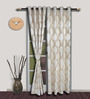 S9home by Seasons Long Door Curtains - Set of Two